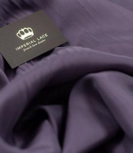 Lilac eggplant Brunello lining fabric