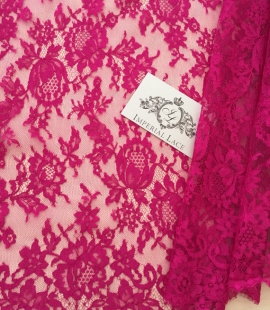 Pink French Lace