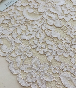 Nude Lace Trim