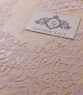 Light Powder Lace Trim