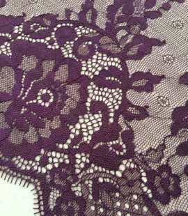 Purple Lace Trim