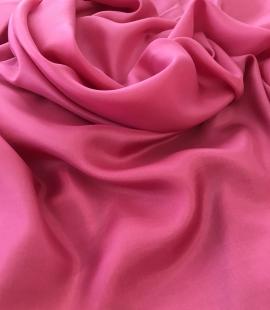 Pink silk lining fabric
