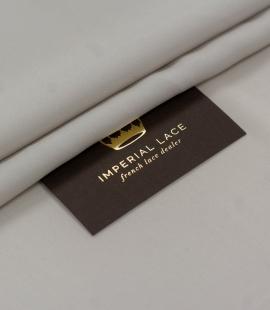 Light grey Mulberry silk with elastane crepe fabric