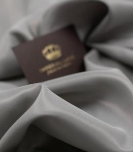 Grey Brunello lining fabric
