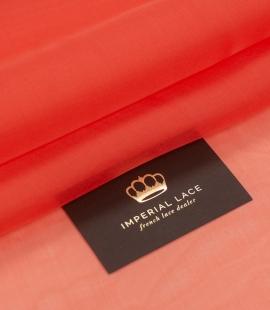 Vibrant orange silk organza fabric