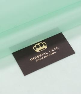 Lettuce green silk organza fabric
