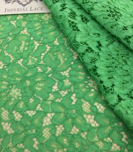 Apple Green Lace Fabric