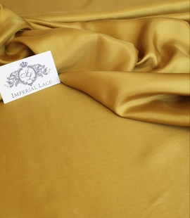 Mustard color silk fabric