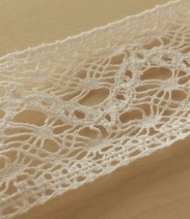 Cotton lace trimming