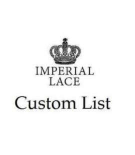 Custom list for Natalie