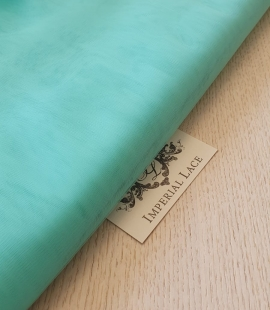 Tiffany green tulle fabric