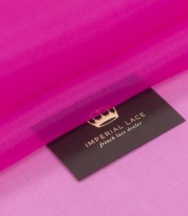 Hot pink silk organza fabric