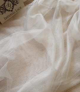 100% silk tulle fabric