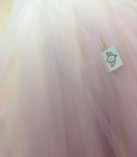 Old rose obre tulle fabric