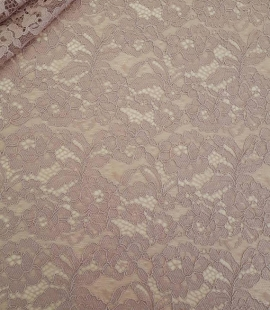 Cappuccino Lace Fabric