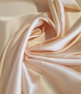 Salmon pink silk fabric