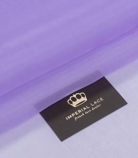 Lilac silk organza fabric