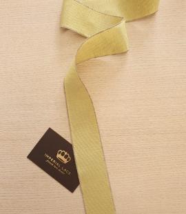Pistachio green grosgrain ribbon linen ribbon application
