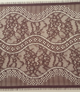 Brown Lace Trim