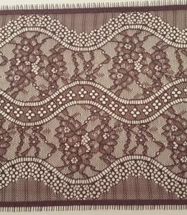 Brown Lace Trim