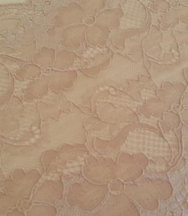 Nude elastic Lace Trim