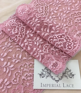 Old rose lace trim