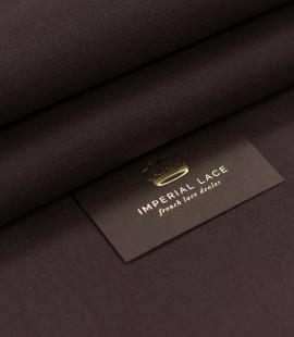 Brown gazar fabric