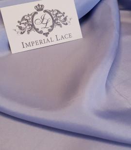 Blue silk lining fabric