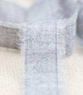 Grey lana wool ribbon