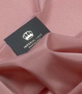 Berry pink Brunello lining fabric