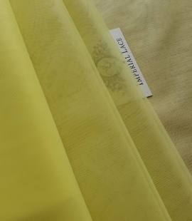 Yellow tulle fabric