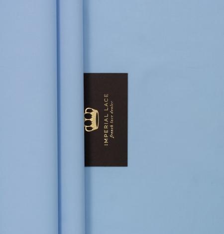 Blue cotton fabric. Photo 2