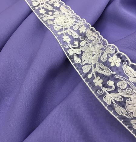 Lilac wool fabric. Photo 4