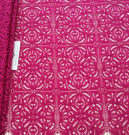 Fuchsia pink lace. Photo 1