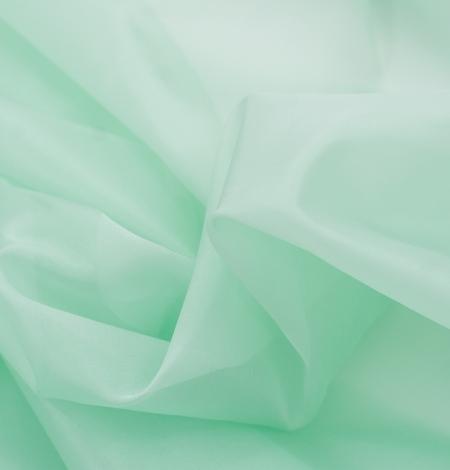 Lettuce green silk organza fabric. Photo 7