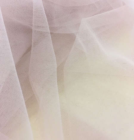 Old rose tulle fabric. Photo 7