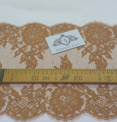 Brown nude Lace trimming. Photo 5