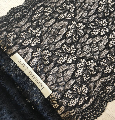 Black lace trimming. Photo 3