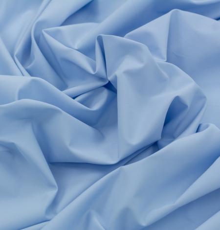 Blue cotton fabric. Photo 4