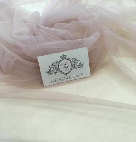 Old rose tulle fabric. Photo 6