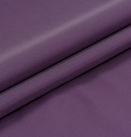 Lilac Brunelli viscose with elastane lining fabric . Photo 3
