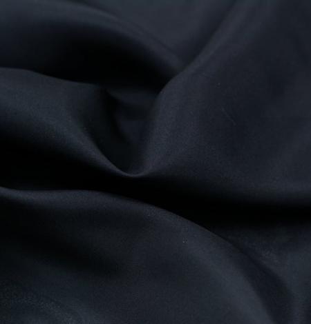 Black silk lining fabric . Photo 6