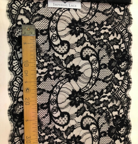Black Solstiss lace trim. Photo 10