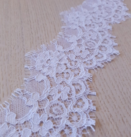 White Guipure Lace Trim French Lace . Photo 3