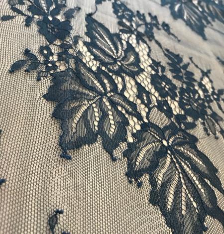 Dark green lace fabric. Photo 10