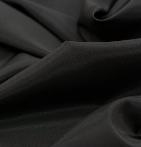Dark brown Brunelli viscose with elastane lining fabric. Photo 2