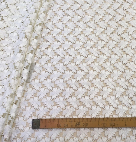 Ivory Lace Fabric. Photo 6