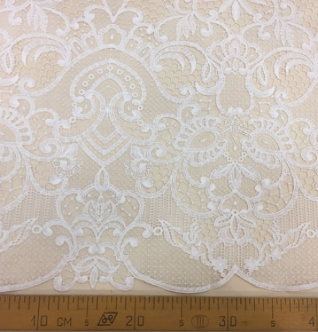 Off-White macrame lace. Photo 4