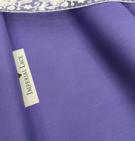 Lilac wool fabric. Photo 1