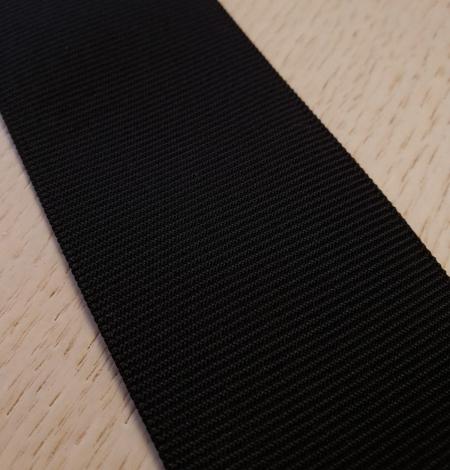 Black rubber ribbon . Photo 2